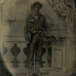 David Alexander standing.
