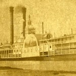 Photograph of the Lady Gay steamboat.